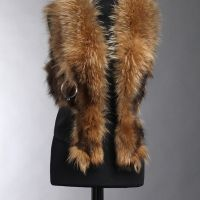 Florentina Fur Gilet Mocha only 2 left sale now 20% off Limited Availability