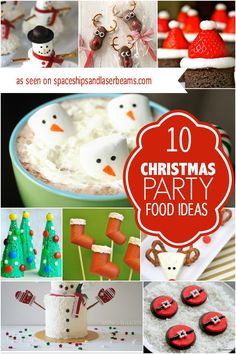 16 Cute Christmas Party Food Ideas Kids Will Love - Spaceships and ...