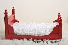 Newborn Photography Prop Bed  Abigail Vintage by BeansInaBucket, $115.00