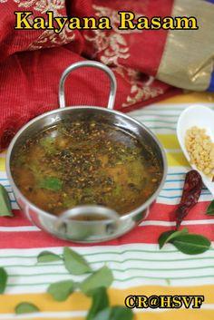 Home Style Veg Food: Kalyana Rasam | Rasam Varieties