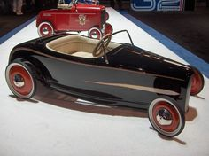 Wow! What kid wouldn't look sharp driving this car?
