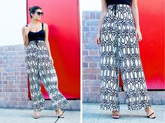 diy palazzo pants by apairandaspare, via Flickr