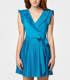 Pleated Zooey Dress: NOW $49.99! (was $68)