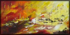 Art Lover Place - Les bateaux de l'espoir (Peinture) par Danielle ROUGIER