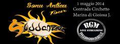 Grande concerto dei Suddanza Sonu anticu a Marina di Gioiosa Jonica (Contrada Circhetto)