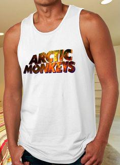 Artic Monkeys Tank Top for Man on http://www.luulla.com/store/distro4u