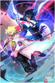 Naruto + Sasuke : YouTube! (Anime Expo) by rossdraws.deviantart.com on @DeviantArt
