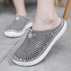 Weweya Galaxy Croc Shoes Clogs Women Slip On Air Mesh Flats Shoes Sneakers Woman Summer Loafers Shoe Breathable Footwear Size 41  Price: 23.38 & FREE Shipping  #fashion #tech #home #lifestyle Loafer Shoes, Shoes Sneakers, Loafers, Stylish Sandals, Barrettes, Flip Flop Shoes, Womens Flip Flops, Crocs Shoes, Womens Slippers