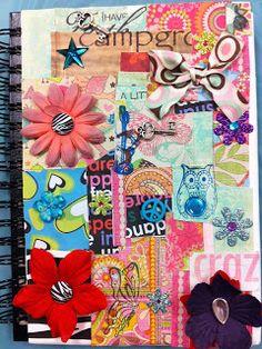 Angela Anderson Art Blog: Mixed Media Journals - Summer Art Camp 2013