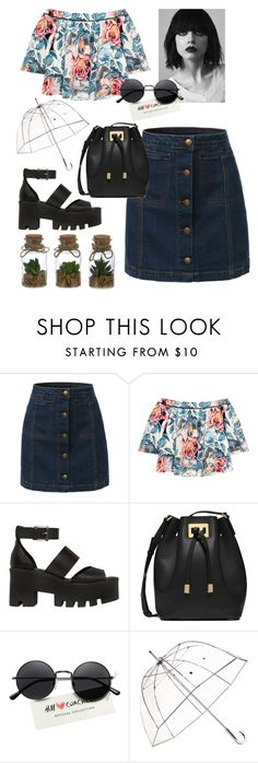 """""""Untitled #8"""" by cleo-vergara on Polyvore featuring LE3NO, Elizabeth and James, Windsor Smith, Michael Kors and Totes"""