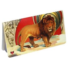 11:11 Lion King Checkbook Cover