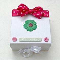 Little Pink and Green Keepsake Box £6.95