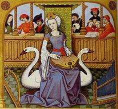 Copy of Medieval and Renaissance Art by Chloe Butler on Prezi Renaissance Music, Medieval Music, Medieval World, Medieval Art, Medieval Fashion, Medieval Clothing, Medieval Manuscript, Illuminated Manuscript, Medieval Paintings