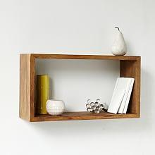 Floating Shelves, Wall Shelves & Storage Shelving | West Elm Possible Entryway Shelf Option?
