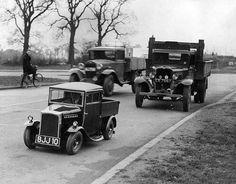 Curiosos y raros autos antiguos