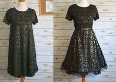 Petticoat under Lularoe Carly dress with belt