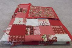 Country Paisley Shabby Chic Quilt. $50.00, via Etsy.