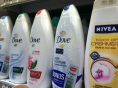 Gluten Free Body Wash..not food but sort of informative about gluten free.