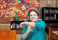 Presidente da República, Dilma Rousseff (Twitter blog do Planalto)