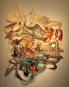 Elliott Hundley, KINDLING FOR THE GREAT FIRE Collage 2005 | Flickr - Photo Sharing!