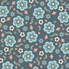 Whimsy Floral Art Print