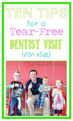 Tips and Tricks for Visiting the Dentist with Kids. @Bev Burgan Pediatric Dentistry #burgpediatric #kidsdentist