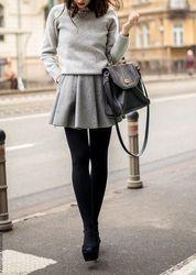 Un po' di idee per indossare i collant in inverno