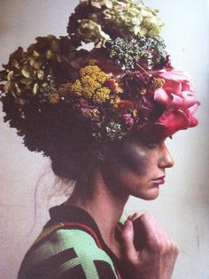 flowers | head piece | master piece | spring | beauty | editorial | |