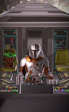 Star Wars Art Discover The Mandalorian Razor Crest Render) Star Wars Fan Art, Star Wars Concept Art, Star Citizen, Star Wars Jedi, Lego Star Wars, Boba Fett, Mandalorian Ships, Star Trek Gifts, Nave Star Wars