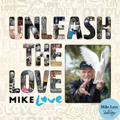 """Mike Love Unleash the Love Vinyl Beach Boys' co-founder delivers a solo album featuring his new single """"Unleash the Love"""". The solo album by Mike Love Dave Koz, Carl Wilson, David Marks, New Music Albums, Mike Love, Last Will And Testament, John Stamos, Love Label, Singing Career"""