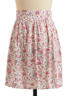 This floral skirt is perfectly Prim. $38 from Modcloth
