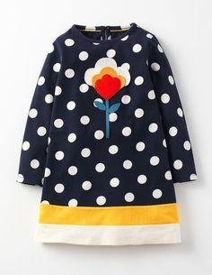 Jerseykleid mit Motiv MiniBoden