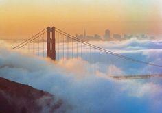 Fog over the city