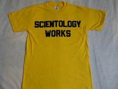 vintage 80's scientology works sport-t by von sunkissedhighways
