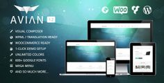 Download Avian v.1.2 is clean, flexible, multipurpose, ecommerce compatible with the most beautiful design you will ever see. It is built with the latest technology and trends and can be used on a huge variety of websites. WordPress themes have never been this amazing!