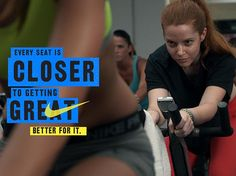 Nike Women #betterforit Every seat is closer