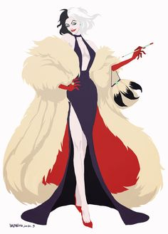 Disney Villains: Cruella DeVil
