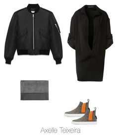 """Untitled #98"" by axelleteixeira ❤ liked on Polyvore featuring Alexandre Vauthier, MSGM, Yves Saint Laurent and Monki"