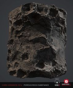 ArtStation - Porous Rock / Substance Designer, Chris Hodgson