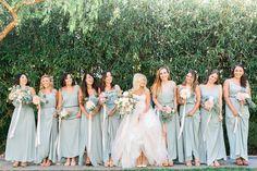 @showmeyourmumu silver sage bridesmaid dresses #mumuweddings
