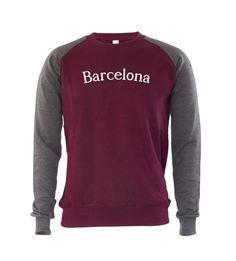 £19.99 Barcelona Mens Jumper Sweatshirt Catalonia Spain Travel Slogan City Trend Gift  #GET2WEAR #Sweatshirt