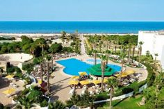 Club Tropicana, can't wait to be there in less than 3 weeks! Club Tropicana, Spa, Sun Holidays, France, 4 Star Hotels, Architecture, Marina Bay Sands, Palm Beach, Golf Courses