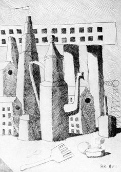 Variety drawing by Aldo Rossi: