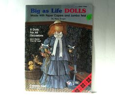 Plaid Big as Life Dolls Big And Beautiful, Beautiful Dolls, Jumbo Twists, Caroler, Mrs Claus, Price Sticker, Team Gifts, Poster On, Country Girls