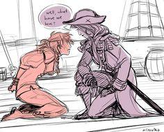 pipenya pirate! au