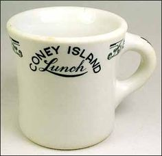 Coney Island Lunch (Shenango China, 1920's/1930's)
