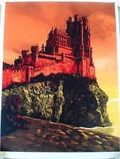 Tim Doyle Red Keep Game of Thrones TV Poster Art Print S/# LE 125 Unreal Estate