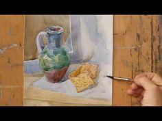 Уроки рисования. Акварель (16.10.2015) - YouTube