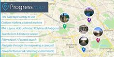 Progress Map v2.8 – WordPress Plugin