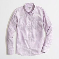 pale purple print shirts just like this jcrew one